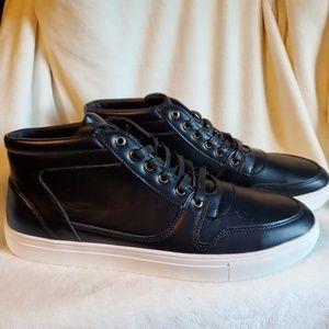 Miko Lotti Black Lace Up Sneakers Sz. 11